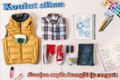 School clothes and items